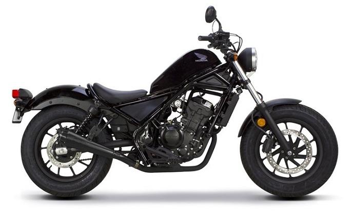 Honda CMX/Rebel 500 Black Plastics