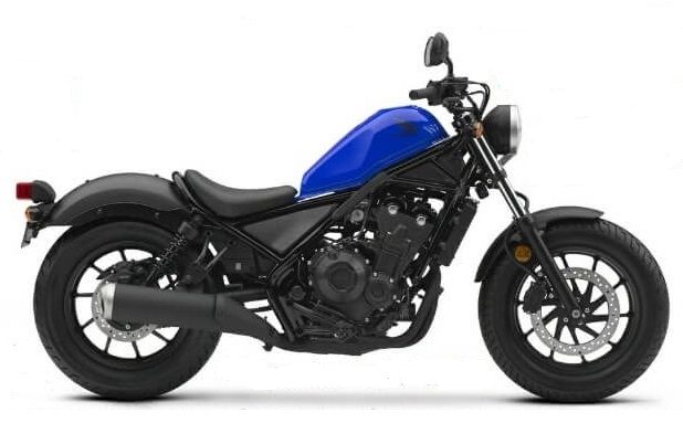Honda CMX/Rebel 500 Blue Plastics