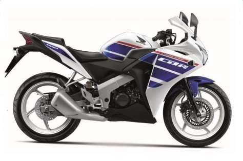 CBR150R White/Blue Plastic Parts (NH196)