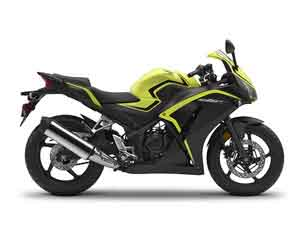 CBR300R Lime Plastic Parts (Y196)