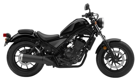 Honda CMX/Rebel 300 Black Plastics