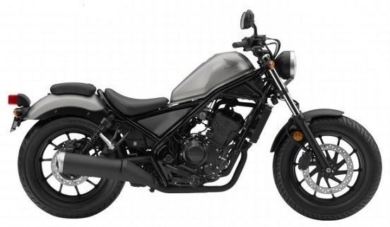 Honda CMX/Rebel 300 Gray/Black Plastics