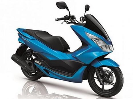 PCX Blue Plastic Parts