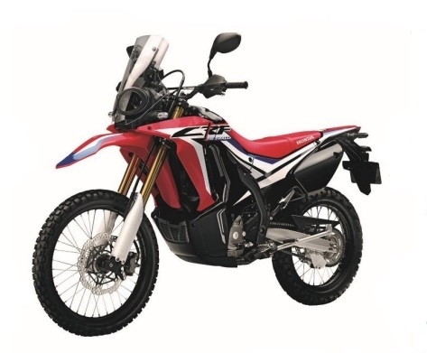 CRF250RL Red Plastic Parts (R292R)