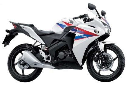 CBR150R Ross White Plastic Parts (NH196)