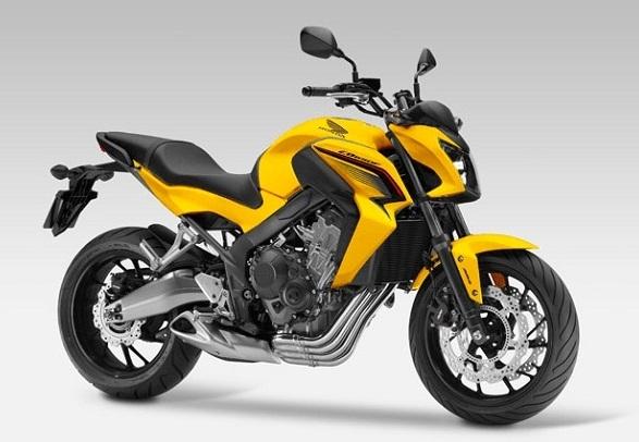 CB650F Yellow Plastic