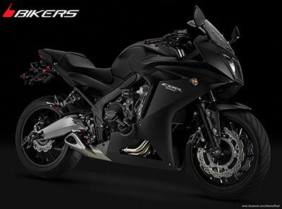CBR650F BIKERS Premium Black