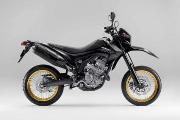 Honda CRF250L Full Set of Black Plastic Parts