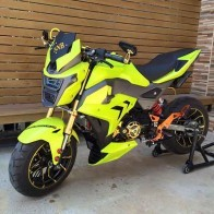 Full MSX125SF Custom Body Kit V2