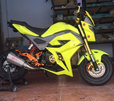 Full MSX125SF Custom Body Kit V1