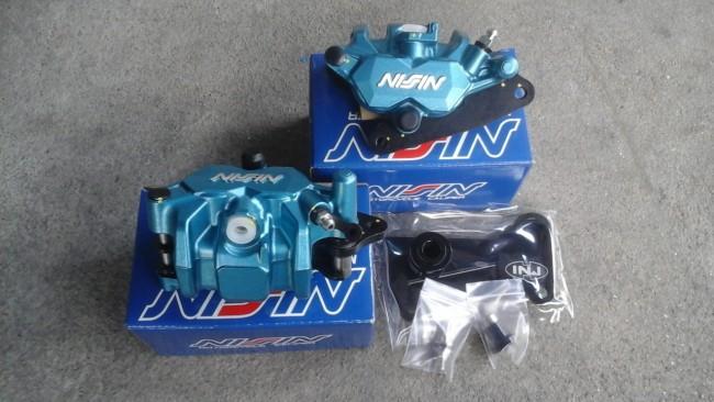 NISSIN Twin Pot Caliper Set Honda MSX / Grom