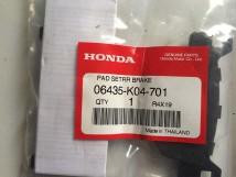06435-K04-701 pad set rr brake forza nss300
