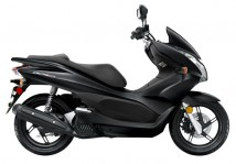 Honda PCX Black Plastic Set