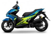 Yamaha Aerox Blue-Lime Plastic Set