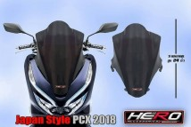 Honda PCX 150 2018/2019 Japan Style Windshield