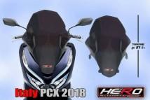 Honda PCX 150 2018/2019 Italy Windshield