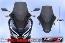 Honda PCX 150 2018/2019 New Puig Twotone Windshield