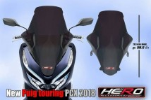 Honda PCX 150 2018/2019 New Puig Touring Windshield