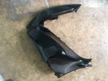 Honda PCX Left Front Cover Black
