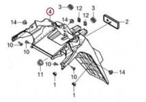 FENDER,A RR      /C 80101-K97-T00