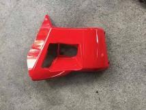 Honda PCX Red Console Compartment