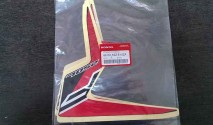 Sticker Front Right Shroud (Red/Black)