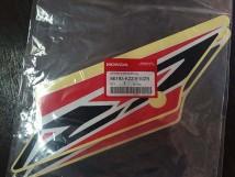 Sticker  Rear Right Shroud (Red/White)