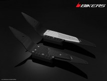 BLACK EDITION Foot Plate with Extra Protection for Honda PCX 125, 150(2013) and All New PCX150