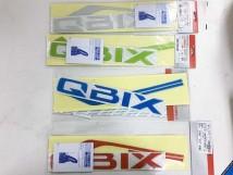 Q-Bix Sticker Set