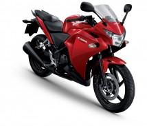 Honda CBR250R Red Fairings Complete Set