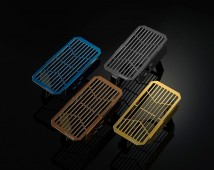 Ducati Scrambler Stainless Titanium Coating Oil Cooler Guard