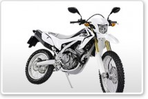 Honda CRF250L White Plastic Parts