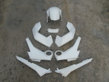 Complete Set of Pearl Himalayas White Plastics Honda MSX / Grom