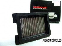 CBR250R Hurricanen Stainless Air Filter