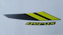 Yamaha Aerox 155 Graphic Set,Right Side Cover
