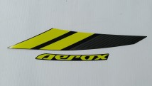 Yamaha Aerox 155 Graphic Set, Left Side Cover