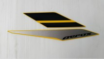 Yamaha Aerox 155 Graphic Set, Right Side Cover