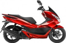 Honda PCX Full Set Of Candy Rose Red Plastic Parts