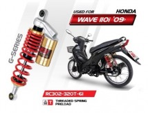 Honda Wave 110i G-Series YSS Shock Absorbers (Gold Series) - RC302-320T-61