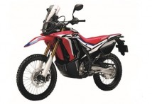 Honda CRF250RL RED STICKER SET (R292R)