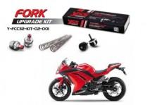 Kawasaki Ninja 250R & 250SL YSS Fork Upgrade Kit_Y-FCC332-KIT-02-001