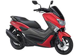 Yamaha NMAX Matte Red Plastic