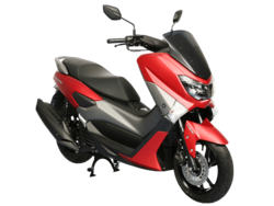 Yamaha NMAX Red Plastic